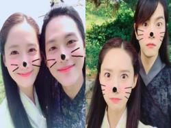 "YoonA Thanks Viewers Of ""The King Loves"" After Finale And Shares Photos From Set"