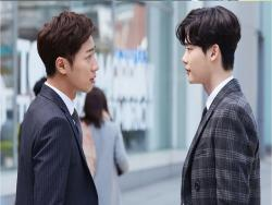 """While You Were Sleeping"" Drops Hints About Lee Jong Suk And Lee Sang Yeob's Tense Relationship"