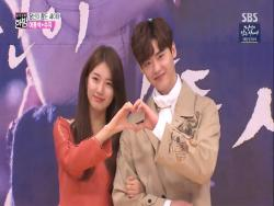 "Watch: Lee Jong Suk And Suzy Share Stories About Filming For ""While You Were Sleeping"""