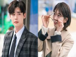 "New ""While You Were Sleeping"" Stills Show How Things Have Changed Between Lee Jong Suk And Suzy"