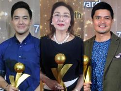 GMA personalities honored by various award-giving bodies