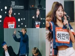 """MIXNINE"" Shows Trainees From JYP, YG, And More In New Agency Tour Photos"
