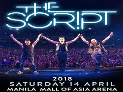 The Script returning to Manila in 2018