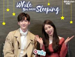 "Watch ""While You Were Sleeping"" Stars Lee Jong Suk And Suzy's Interview + Win Signed Posters"