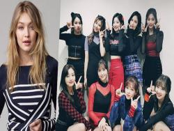 "Gigi Hadid ""Likes"" A Tweet About TWICE Wearing Clothing From Her Collection"