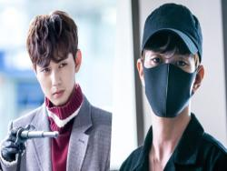 "Yoo Seung Ho Is All Covered Up To Avoid Human Contact In New Stills For ""She's Not A Robot?!"""