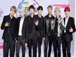 22 Spectacular Moments Of BTS At The 2017 American Music Awards