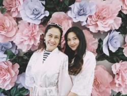 Sophia Delas Alas, emotional on her mom's wedding day