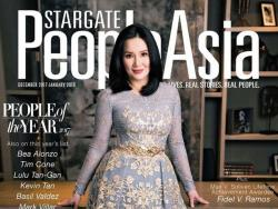 "Kris Aquino, named ""Krazy Rich Asian"" in a lifestyle magazine"