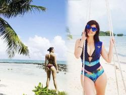 IN PHOTOS: Heussaff family's Siargao holiday