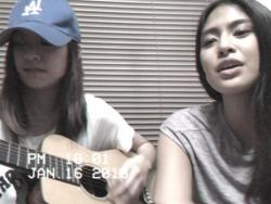 "WATCH: Gabbi Garcia and sister Alex do cover of Ben&Ben's ""Kathang Isip"""