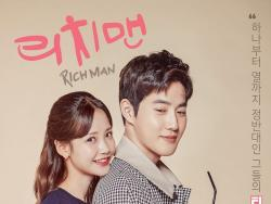"""Rich Man, Poor Woman"" Teases EXO's Suho And Ha Yeon Soo's Sweet Romance In New Poster"