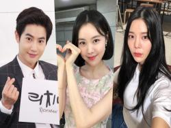 "Jang Jae In Sends Support For Friends EXO's Suho And Kim Ye Won On ""Rich Man, Poor Woman"" Set"