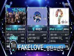 "Watch: BTS Takes 2nd Win For ""Fake Love"" On ""Music Core,"" Performances By VICTON, The East Light, Khan, And More"