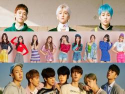 EXO-CBX, TWICE, And iKON Receive Official Platinum Certifications From Gaon