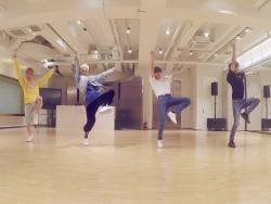 "Watch: SHINee Slays In Dynamic Dance Practice Video For ""Good Evening"""