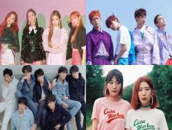 BLACKPINK, SHINee, BTS, And Bolbbalgan4 Top Weekly Gaon Charts