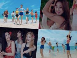 "TWICE Shares Stories From Filming ""Dance The Night Away"" MV"