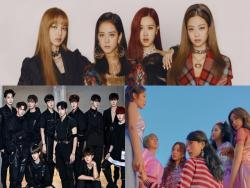BLACKPINK, Wanna One, Apink, And More Top Gaon's Monthly And Weekly Charts