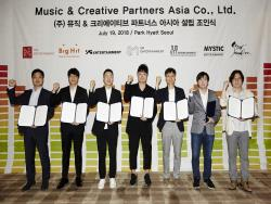 Agencies Including SM, JYP, YG, And BigHit Jointly Establish New Content Platform Company