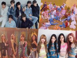 BTS, SEVENTEEN, MAMAMOO, BLACKPINK, And More Take Spots On Billboard's World Albums Chart