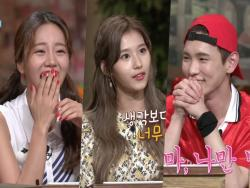 "TWICE's Sana Wins Over Girl's Day's Hyeri And SHINee's Key With Her Aegyo On ""Amazing Saturday"""