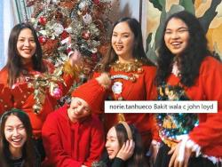 LOOK: Absence of John Lloyd Cruz in Ellen Adarna's Christmas family photo fuels speculations