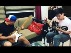 LOOK: Wendell Ramos and Antonio Aquitania go on a jamming