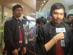 IN PHOTOS: Welcome back, Pambansang kamao Manny Pacquiao