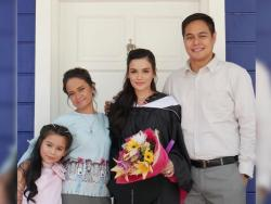 Yasmien Kurdi dedicates diploma to mom; actress' daughter and husband create congratulatory video