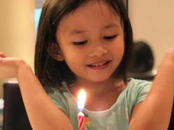 Chynna Ortaleza and Kean Cipriano's daughter Stellar turns three