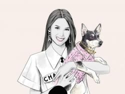 LOOK: Heart Evangelista and dog Panda are decked in Chanel for Preview's pet issue cover