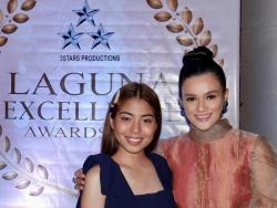 LOOK: Yasmien Kurdi at Therese Malvar, pinarangalan sa Laguna Excellence Awards 2019
