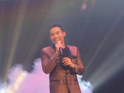 Ken Chan gives a message for Kuya Germs in BoBrey concert
