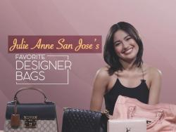 WATCH: Julie Anne San Jose reveals some of her favorite designer bags