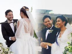 IN PHOTOS: Quark Henares and Bianca Yuzon's outdoor wedding in Bali, Indonesia
