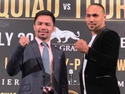 "WATCH: Keith Thurman on fight against Manny Pacquiao: ""Your senator is going down"""