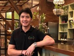 LOOK: Alden Richards attends reopening of Concha's in Cavite