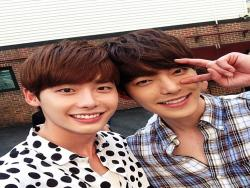 Lee Jong Suk Opens Up About Competing With Best Friend Kim Woo Bin For Drama Ratings