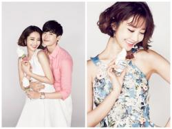 "Actors Lee Jong Suk and Go Jun Hee Endorse ""Milk Cow"" Ice Cream"